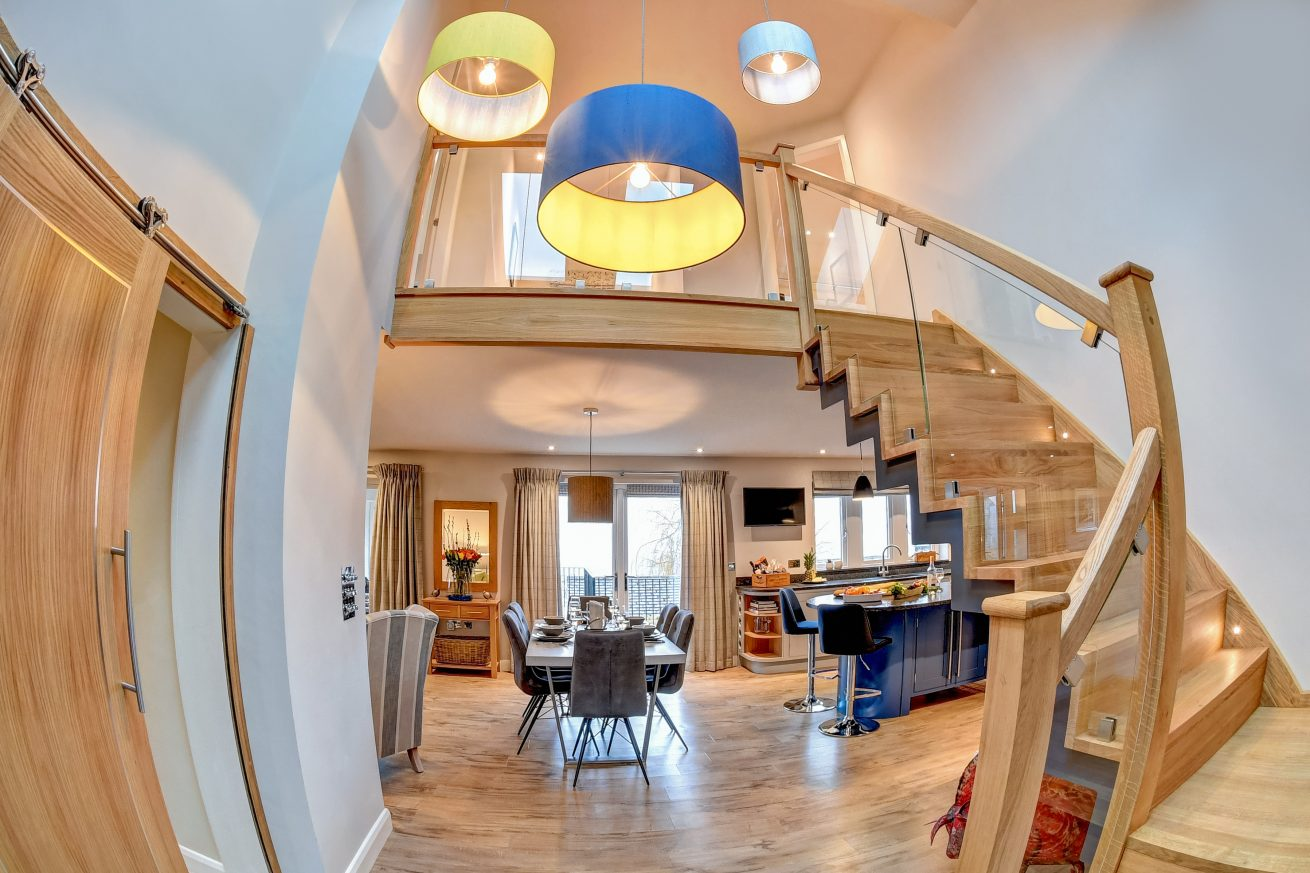 Fisheye Entrance Hall