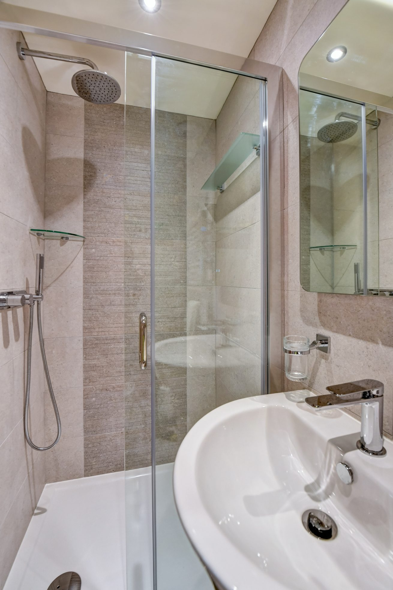 The Green Room Ensuite Shower